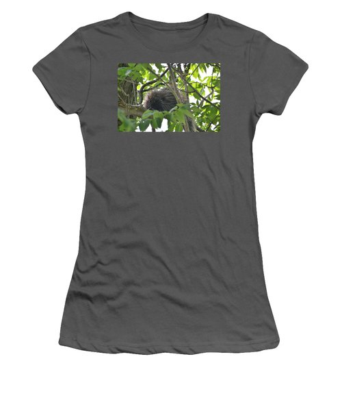 Porcupine Women's T-Shirt (Athletic Fit)