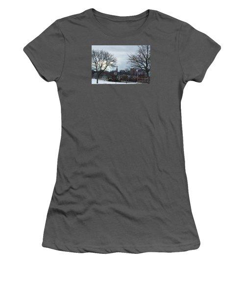 Portland, Maine, My City By The Bay Women's T-Shirt (Junior Cut) by Patricia E Sundik