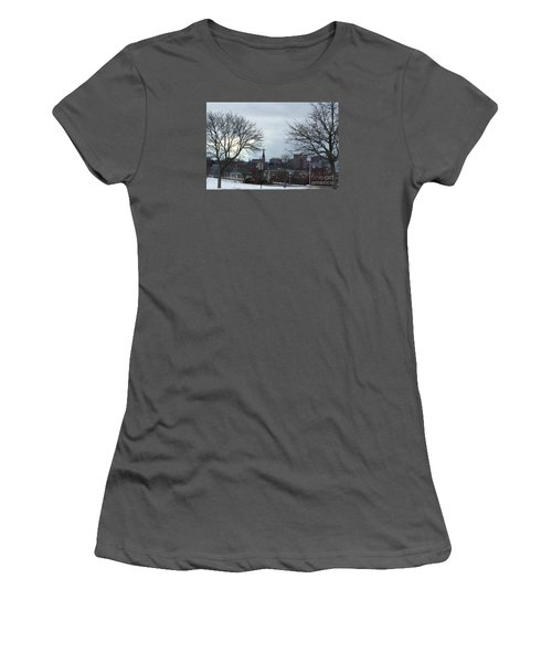 Portland, Maine, My City By The Bay Women's T-Shirt (Junior Cut)
