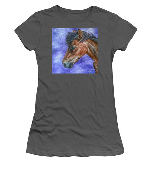 Portrait Of A Pony Women's T-Shirt (Athletic Fit)
