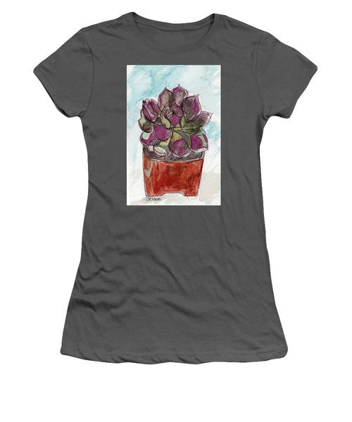 Potted Cactus Women's T-Shirt (Junior Cut)