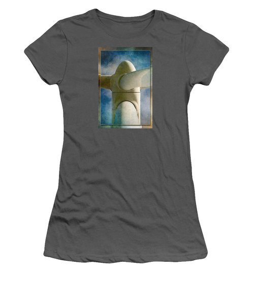 Women's T-Shirt (Junior Cut) featuring the photograph Power 7 by WB Johnston