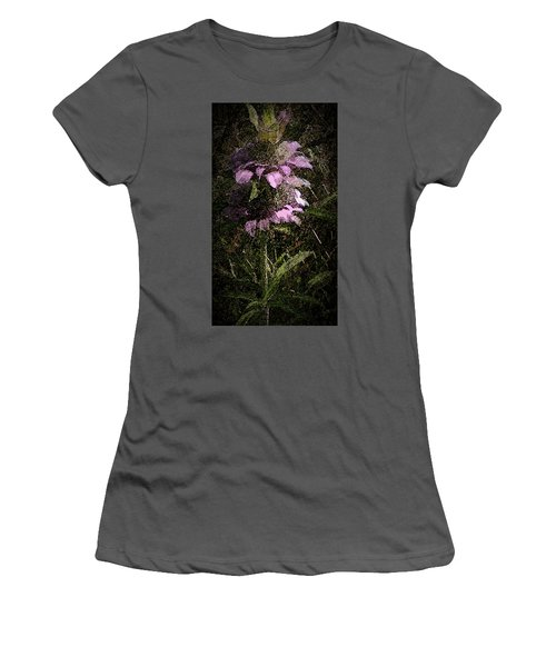 Prairie Weed Flower Women's T-Shirt (Athletic Fit)