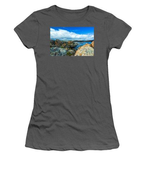 Prescott Rocks Women's T-Shirt (Athletic Fit)