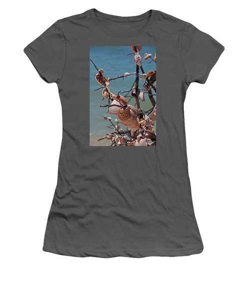 Women's T-Shirt (Athletic Fit) featuring the photograph Previously Loved Treasures by Michiale Schneider
