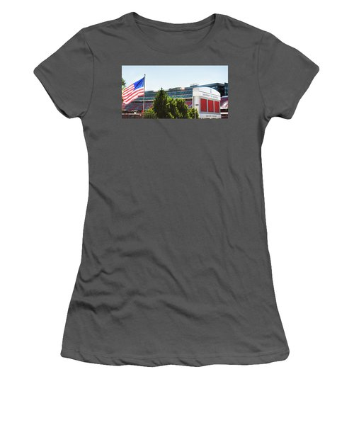 Women's T-Shirt (Junior Cut) featuring the photograph Pride Of Athens by Parker Cunningham