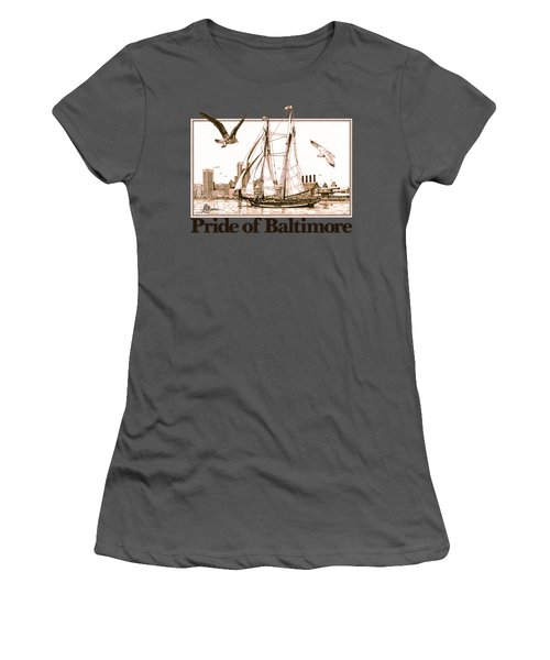 Pride Of Baltimore Shirt Women's T-Shirt (Athletic Fit)