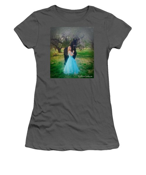 Princess' Stallion Women's T-Shirt (Athletic Fit)