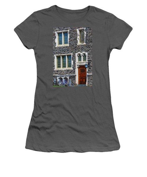 Women's T-Shirt (Junior Cut) featuring the photograph Princeton University Patton Hall No 9 by Susan Candelario