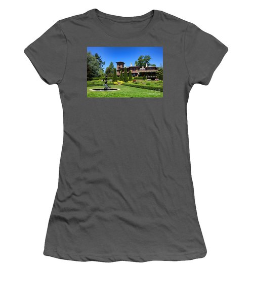 Princeton University Prospect Gardens And House Women's T-Shirt (Athletic Fit)