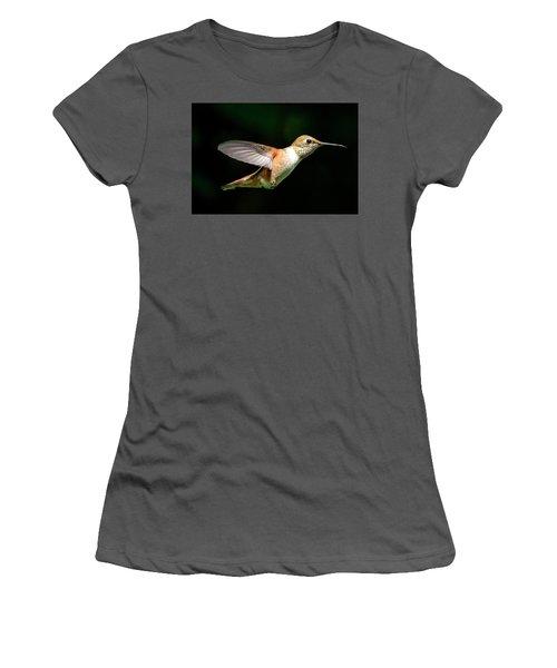 Profile Women's T-Shirt (Junior Cut) by Sheldon Bilsker