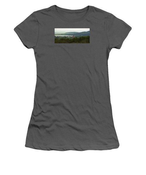 Prongy Hill Women's T-Shirt (Junior Cut) by Ellery Russell