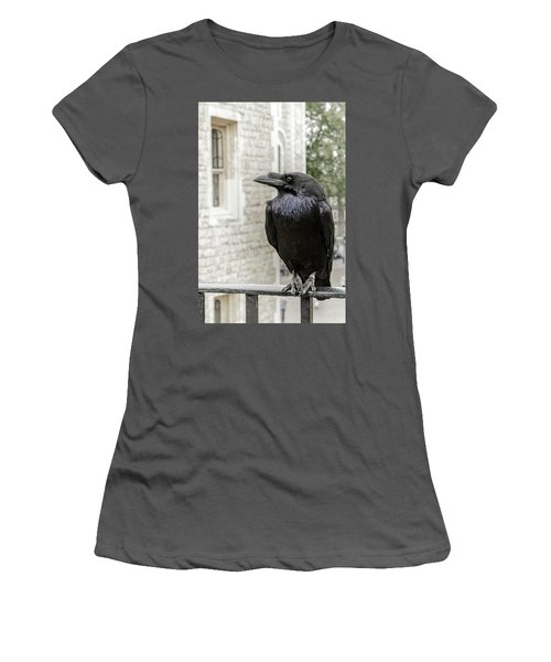 Women's T-Shirt (Junior Cut) featuring the photograph Protector Of The Crown by Christina Lihani