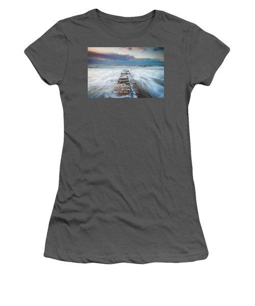 Psalm 25 4 Women's T-Shirt (Athletic Fit)