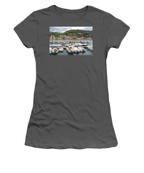 Puerto De Soller In Majorca Women's T-Shirt (Athletic Fit)