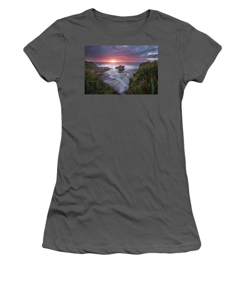 Punakaiki Women's T-Shirt (Junior Cut) by Racheal Christian