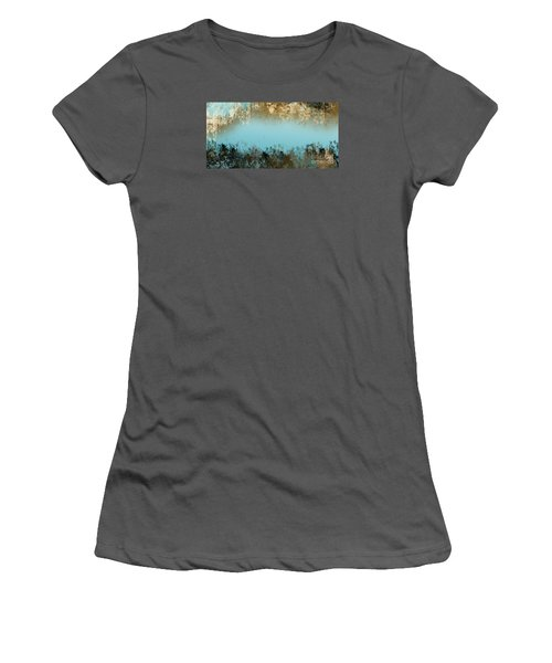 Women's T-Shirt (Junior Cut) featuring the digital art Purity by Trilby Cole