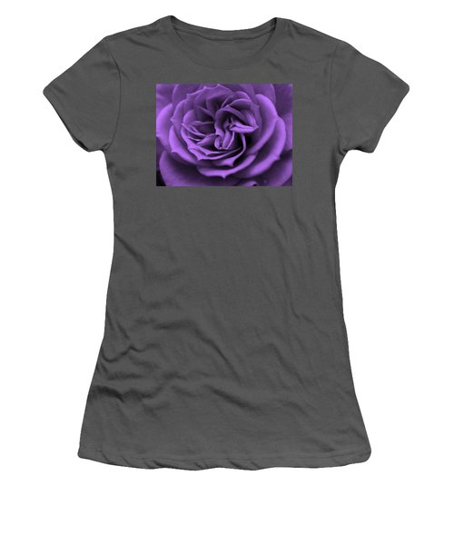 Purple Bliss Women's T-Shirt (Athletic Fit)