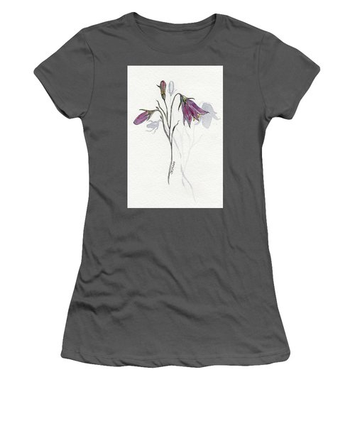Purple Harebell Women's T-Shirt (Junior Cut)