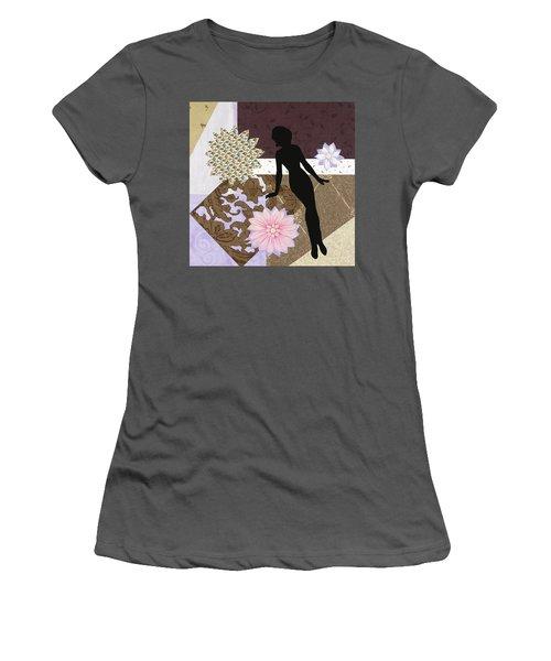 Purple Paper Doll Women's T-Shirt (Athletic Fit)