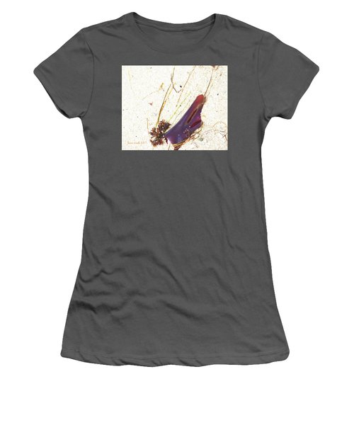 Purple Seaweed In Pacific Grove California Women's T-Shirt (Athletic Fit)