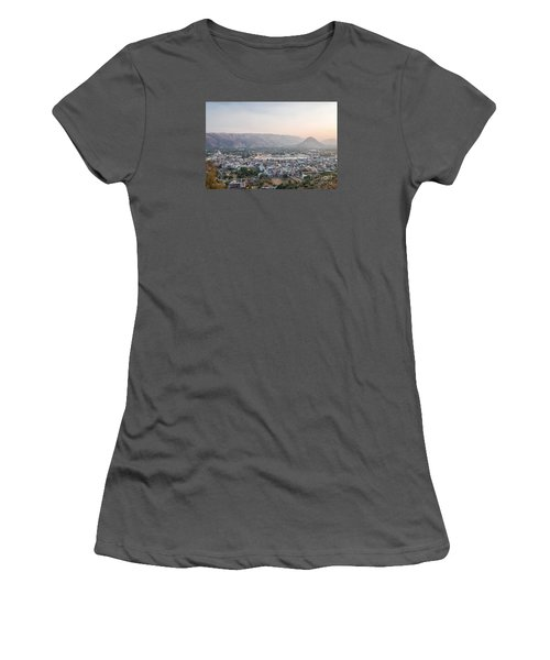 Women's T-Shirt (Athletic Fit) featuring the photograph Pushkar by Yew Kwang