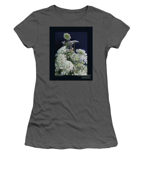 Queen's Bouquet-ii Women's T-Shirt (Athletic Fit)