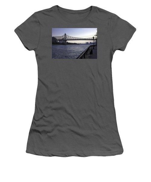 Queensboro Bridge - Manhattan Women's T-Shirt (Athletic Fit)
