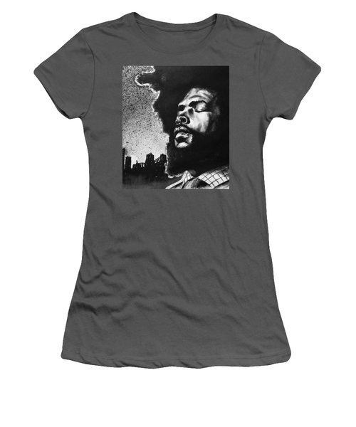 Questlove. Women's T-Shirt (Junior Cut) by Darryl Matthews