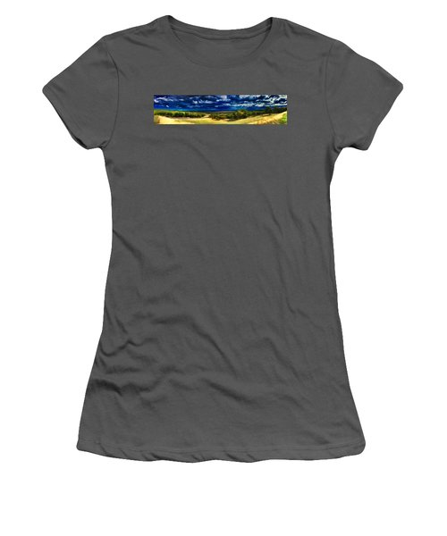 Quiet Before The Storm Women's T-Shirt (Athletic Fit)