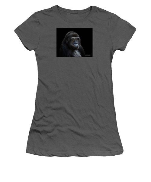 Quiet Moment Women's T-Shirt (Athletic Fit)
