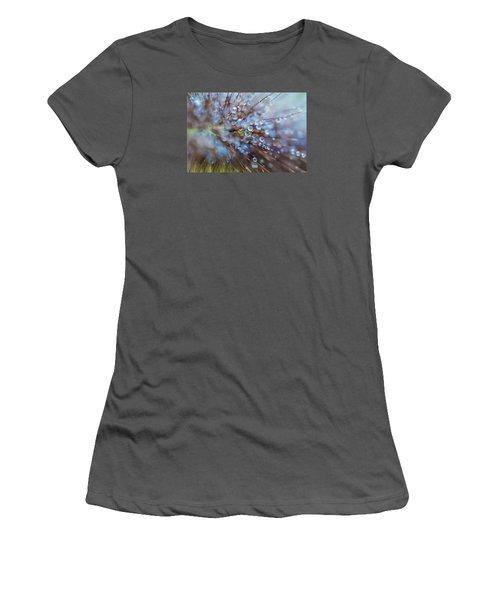 Rain Drops - 9751 Women's T-Shirt (Junior Cut) by G L Sarti