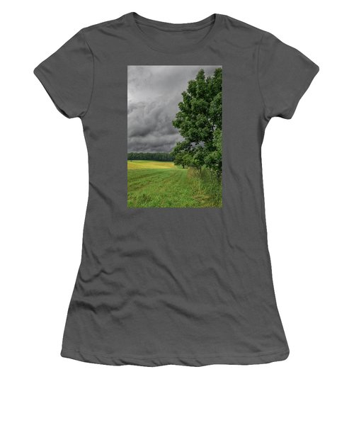 Rain Is Coming Women's T-Shirt (Athletic Fit)