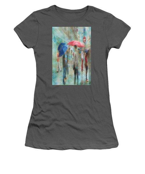 Rainy In Paris 6 Women's T-Shirt (Athletic Fit)
