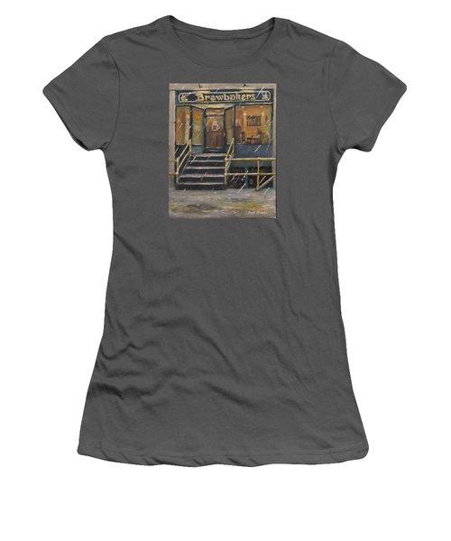 Rainy November Afternoon Coffee Women's T-Shirt (Junior Cut) by Jack Skinner