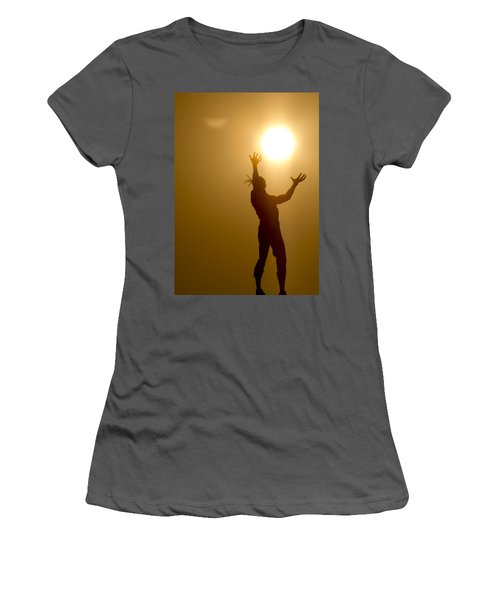 Raising The Sun Women's T-Shirt (Athletic Fit)