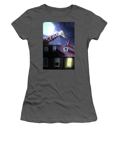 Reaching Out Women's T-Shirt (Junior Cut) by Nathan Wright