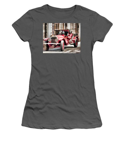 Women's T-Shirt (Junior Cut) featuring the photograph Ready To Serve Again by Wilma Birdwell