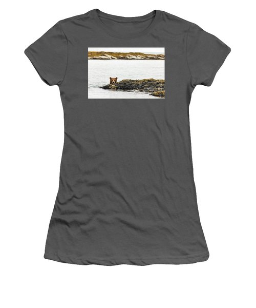 Ready To Swim Women's T-Shirt (Athletic Fit)