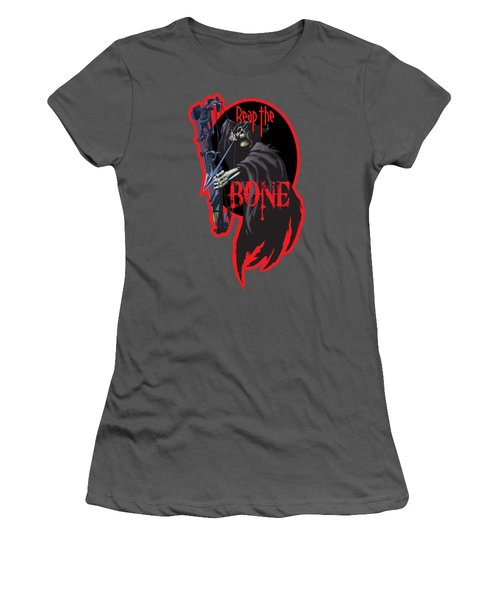Reaper Archer Women's T-Shirt (Junior Cut) by Rob Corsetti