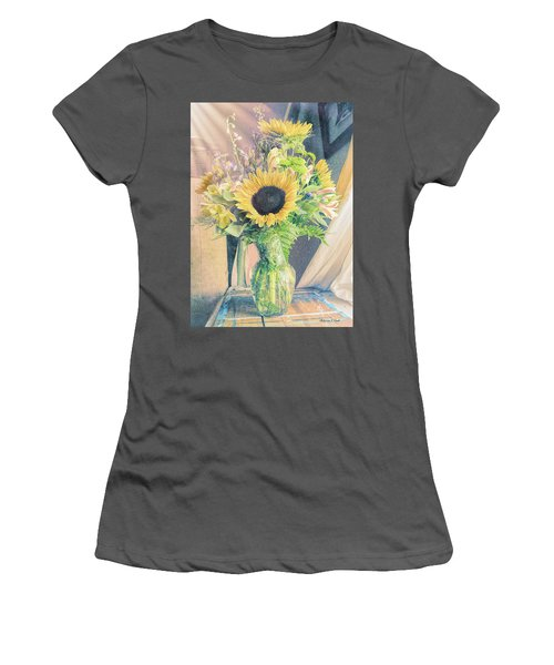 Women's T-Shirt (Athletic Fit) featuring the photograph Reared In The Lap Of Summer by Bellesouth Studio