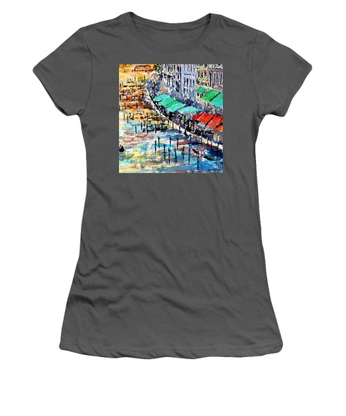 Recalling Venice 02 Women's T-Shirt (Athletic Fit)