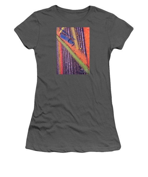 Women's T-Shirt (Junior Cut) featuring the pastel Record  Lp by Kristine Nora
