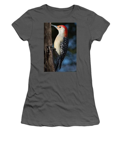 Red-bellied Woodpecker 3 Women's T-Shirt (Junior Cut) by Kenneth Cole