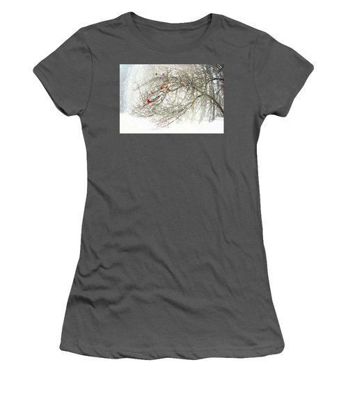 Red Bird Convention Women's T-Shirt (Athletic Fit)