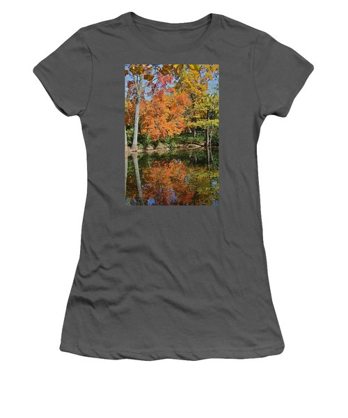 Red Cedar Banks Women's T-Shirt (Athletic Fit)