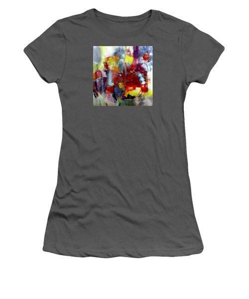 Red Light Women's T-Shirt (Junior Cut) by Katie Black