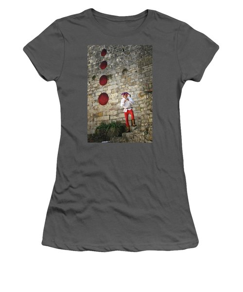 Red Piper Women's T-Shirt (Athletic Fit)