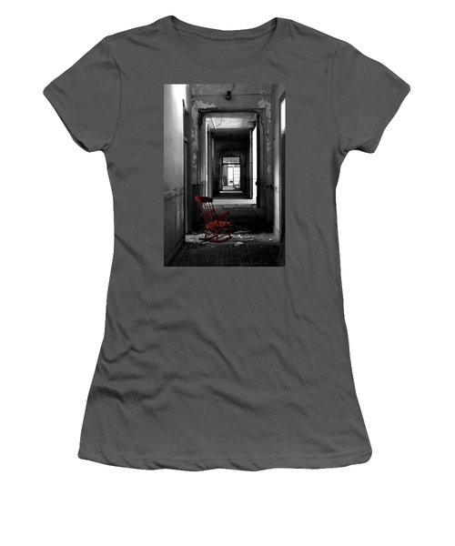 Red Rocker - Preston Castle Women's T-Shirt (Athletic Fit)