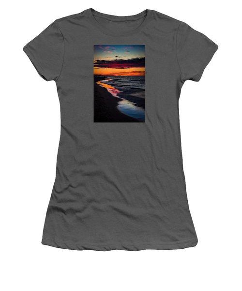 Reflect On This Women's T-Shirt (Junior Cut) by Peter Scott